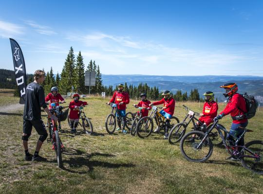 Bike Lessons in Hafjell