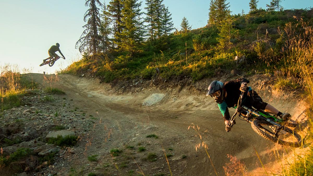 Downhill in Hafjell